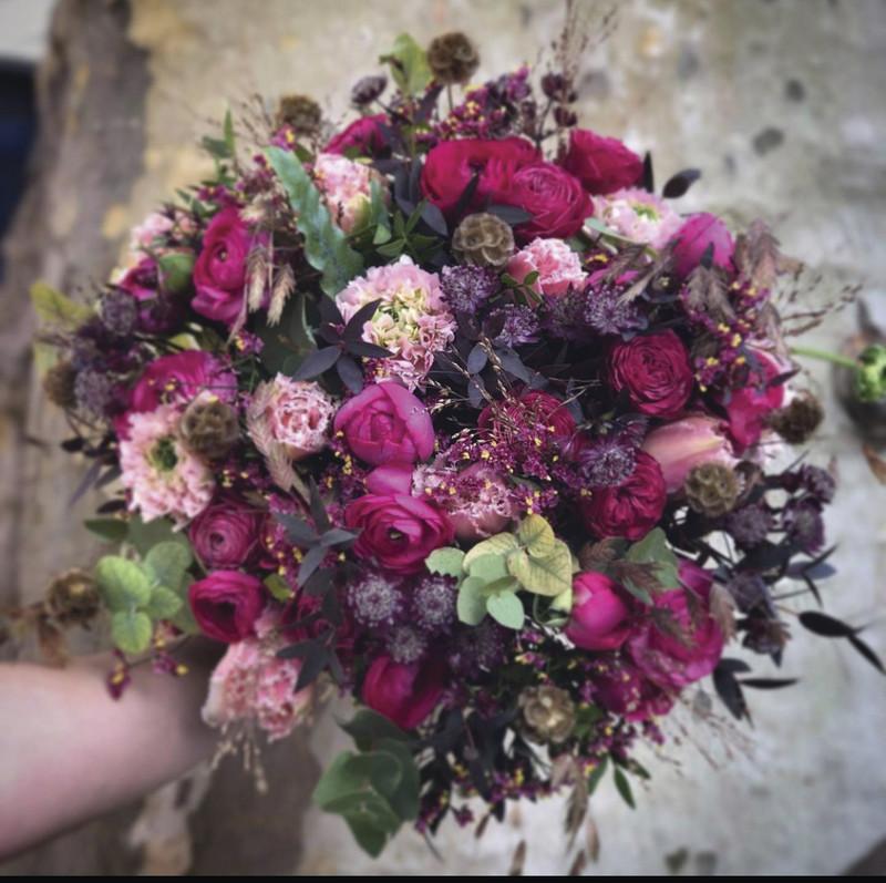 Bouquet de saison - Fleurs coupées  - PARADOXE - Voir en grand