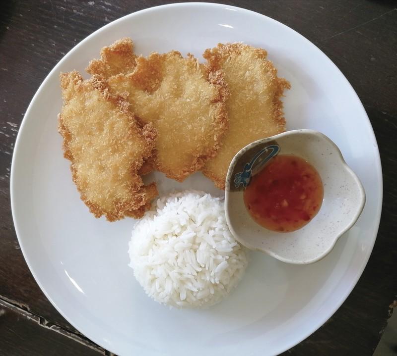 Blanc de poulet pané - Traiteur chinois - L'ENTRE-DEUX - Voir en grand