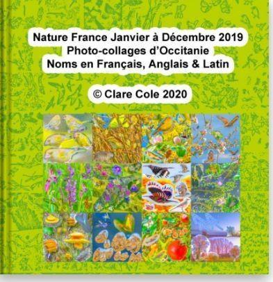 Nature France Janvier à Décembre 2019, Photocollages  - Photo-Collages Nature d'IC - MOTS ET IMAGES  - Voir en grand