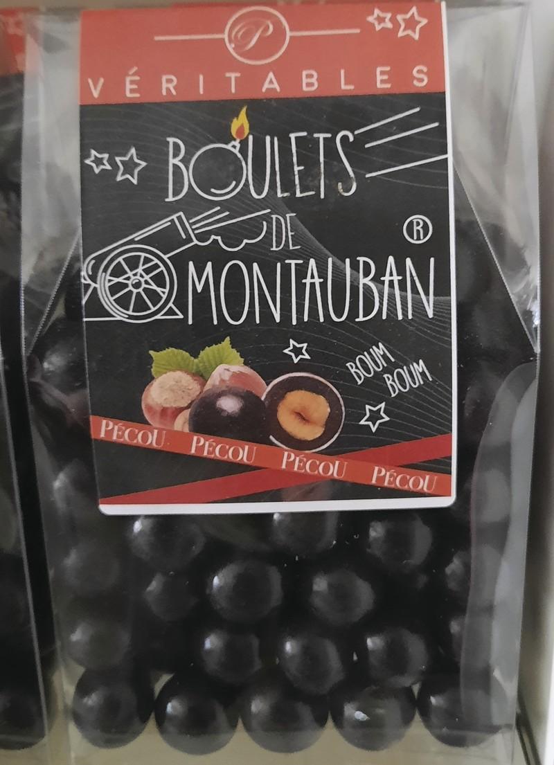 boulet de Montauban - Chocolat - LES GATEAUX DE MAMIE ROSE - Voir en grand